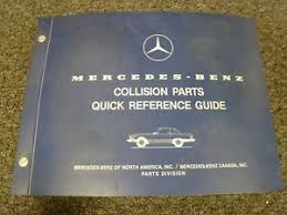 Bridging the gap between the vintage sl models and the modern sl of today, the third generation sl has long been a classic. 1987 Mercedes Benz 560sl Convertible Collision Body Parts Catalog Manual Ebay