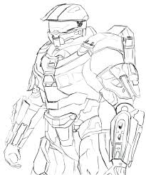 halo coloring sheets master chief pages printable halo coloring sheets