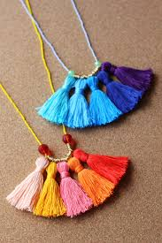 diy gifts for mom diy ombre tassel necklace best craft projects and gift ideas
