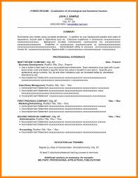 Free Combination Resume Template 100 combination resume sample pdf hostess resume 24