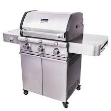 premium gas grills and grilling accessories saber® grills cast stainless 3 burner gas grill