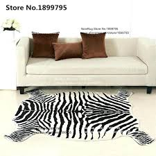faux hide rug faux hide rug rugs zebra quality rug pattern directly from china faux hide rug