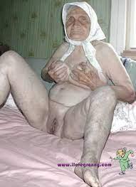 Wrinkled Old Grannies Nude Leg