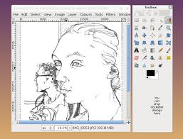 Step 3, press ctrl+alt+t to get an option bar as shown in the following picture. Tutorial How To Make Colour Vector Illustrations From Line Drawings Using Gimp And Inkscape Eleanor Greenhalgh