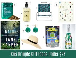 kris kringle gift ideas under 15 25 and 50