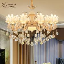 get ations crystal candle chandelier lamp living room living room chandelier european restaurant smoke hanging lamps european zinc