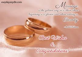 Wedding Wishes Quotes Enchanting Top Wedding Wishes And Messages Easyday