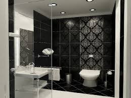 Black And White Bathroom Designs Awesome Design Inspiration