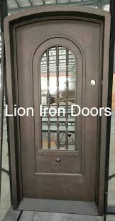 exterior steel doors. 2018 Hot Selllig Double Steel Door Glazed Exterior Entry Iron Doors R