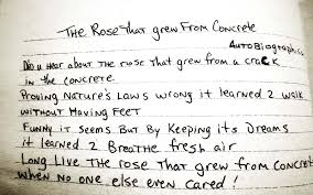 tupac shakur poems the rose that grew from concrete bookacuppa  tupac shakur poems the rose that grew from concrete bookacuppa 2013