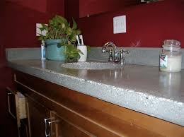 what do concrete countertops look like