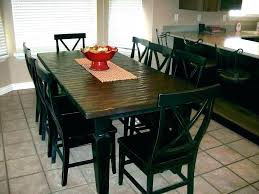 how to make a distressed dining table round kitchen set and chairs black room furniture agreeable