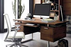 Office desks with drawers Grey Home Office Desk With Drawers Desk Squared Stainless Steel Sled Legs Home Office Desk With Matching Home Office Desk With Drawers Garagestorageusainfo Home Office Desk With Drawers Computer Furniture For Home Small Home