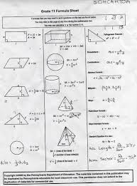 formula sheets for geometry ulshafer k honors geometry