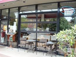 Glass Garage Door Restaurant Glass Garage Doors Door Restaurant