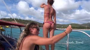Girls ships bikinis boats