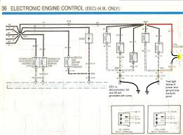 injector problem on 1988 f150 4 9 ltr efi 2wd it ran as you can see in the diagrams there are several important splices in the injector wiring splices are common spots for faults because corrosion tends to
