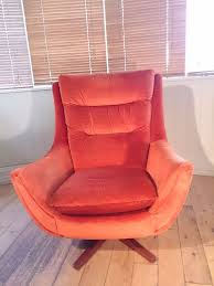 knoll egg chair. Rare Parker Knoll Vintage Retro Swivel Rocker Egg Chair-Superb Condition 60s Chair O