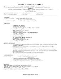 Radiologic Technologist Resume Examples Extraordinary Sample X Ray Tech Resume Technologist Resume Template Cover Letter