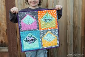 Schnitzel and Boo Mini Swap - Sarah Goer Quilts & Here's the resulting 13.5
