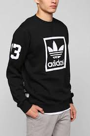 adidas 03 hoodie. adidas trefoil crew-neck sweatshirt - urban outfitters 03 hoodie