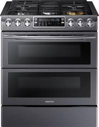 Samsung Flex Duo™ 5.8 Cu. Ft. Self-Cleaning Slide-In Gas Convection ...