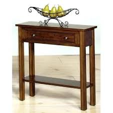 narrow black console table. Narrow Black Console Table Very Tables For Small Hallways And