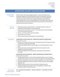 Advertising Account Manager Resume Resume Sample Advertising Account Manager Danayaus 3