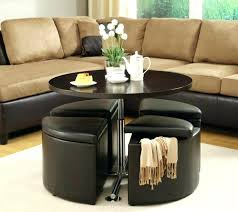 round table davis round table living room ottoman storage beautiful large round coffee table warm with