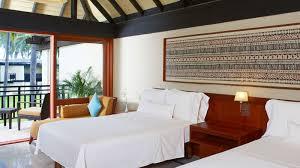 Ocean Bedroom The Westin Denarau Island Resort Spa Guest Rooms