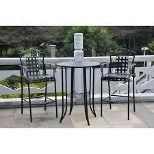 3 piece patio bar set. Beautiful Set Idea Bar Patio Set And Three Posts 3 Piece Wrought Iron Height Bistro  With Piece Patio Bar Set S
