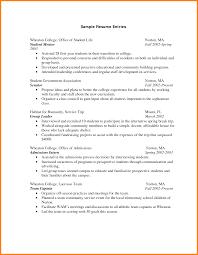 6 College Student Cv Sample Graphic Resume