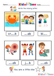 A word family is basically a group of words with the same sound pattern. Ab Word Family Kindergarten Phonics Worksheet Kidzezone