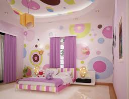 Polka Dot Bedroom Decor Paint Polka Dots Bedroom Wall
