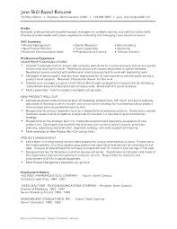 Example Resume Skills Section – Lespa