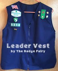 Gs Leader Vest Girl Scout Vest Girl Scouts Usa Girl