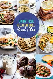 Healthy Dairy Free Gluten Free Meal Plan Recipes Cotter