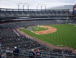 Comerica Field Seating Chart Comerica Park Section 213 Seat Views Seatgeek
