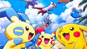 playing pokemon hd desktop wallpaper