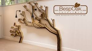 building a tree bookshelf wall feature by bespoak interiors  youtube
