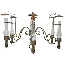 large scale vintage commercial campaign style chandelier for