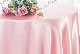 132 round heavy duty satin tablecloths 38 colors