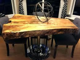 cypress slab coffee table dining tree root stump trunk kitchenaid mixer attachments