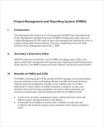 16 Sample Project Management Reports Word Apple Pages