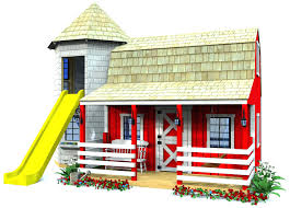 play house plans playhouse and material list with loft free ana white