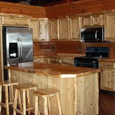 cedar cabinets hand crafted custom rustic cedar kitchen cabinets by king of the forest furniture