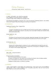 Ios Resume Free Resume Example And Writing Download