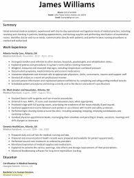 New Graduate Nurse Resume Template Simple Student Nurse Resume