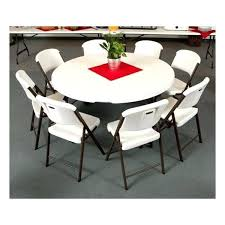 lifetime inch round folding table seating heavy duty granite white plastic 60 fol