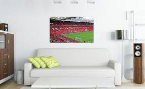 old trafford stadium manchester united wall art on manchester united wall art with old trafford stadium manchester united wall art wallart london